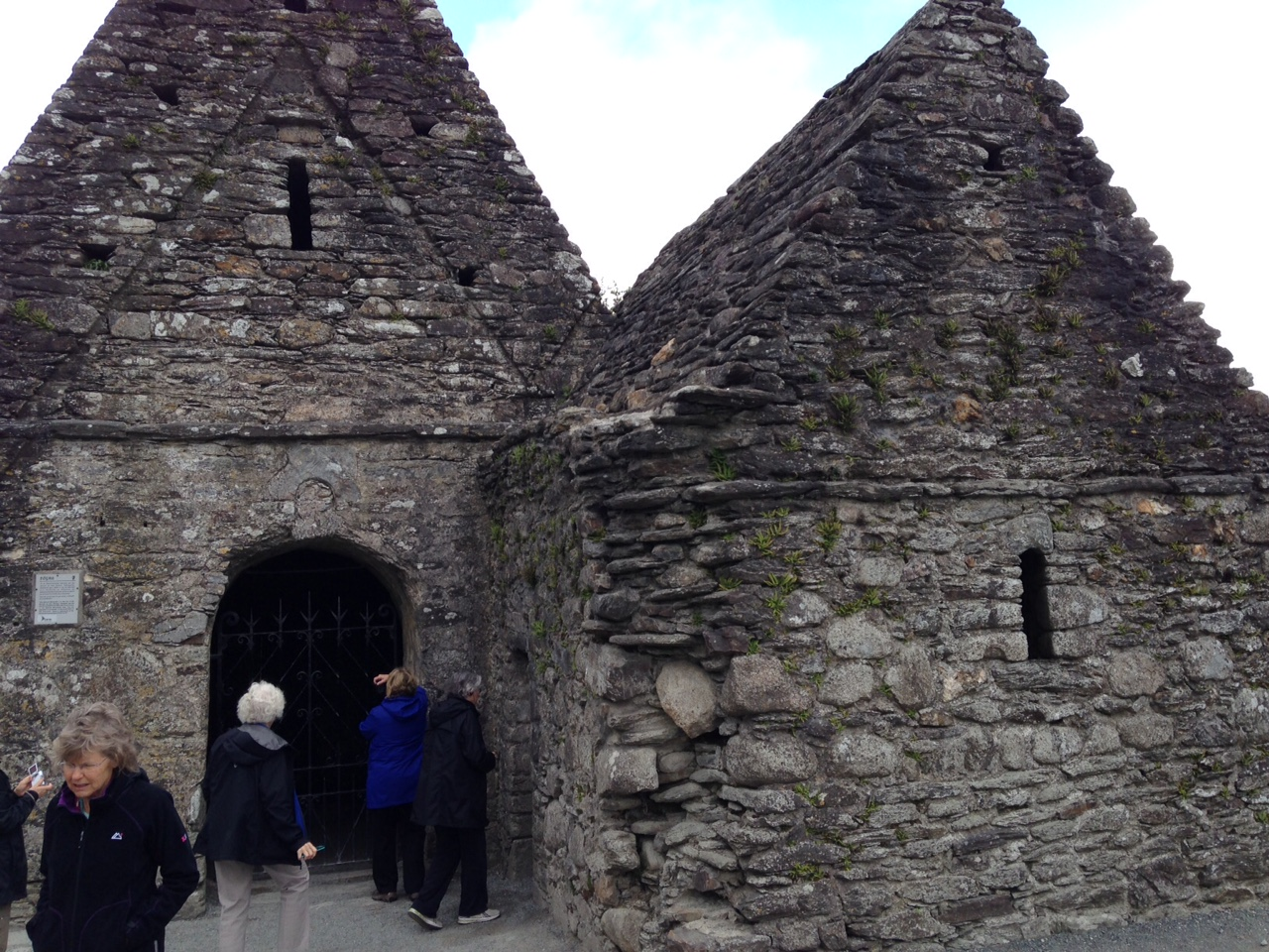 Rock church in Ireland, built about 200 AD