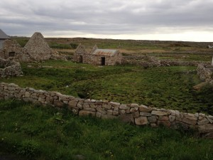 Stone farmstead.