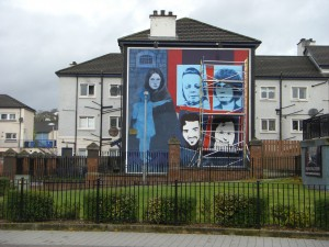 Mural in Derry, Northern Ireland